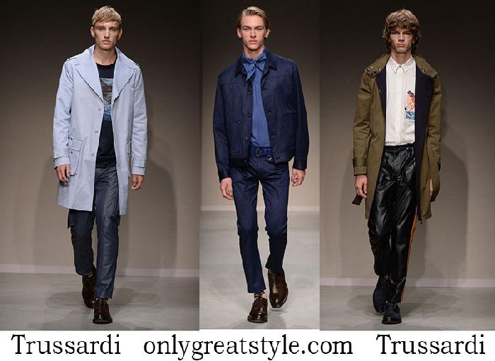 Trussardi Clothing Spring Summer Men's Fashion