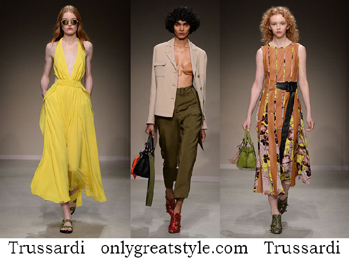 Trussardi Clothing Spring Summer Women's Lifestyle