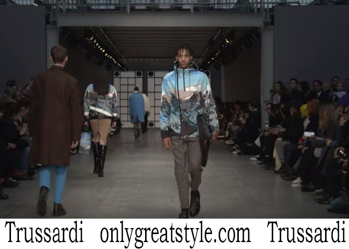 Trussardi Men's Fall Winter 2018 2019 Fashion Show