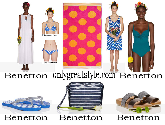 Benetton spring Summer 2018 Women's beachwear