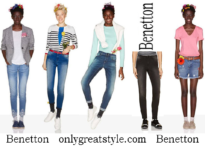 Benetton spring Summer 2018 Women's jeans
