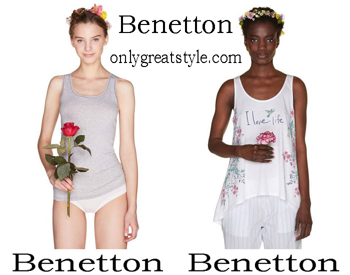 Benetton spring Summer 2018 Women's Underwear