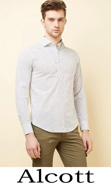 Clothing Alcott Shirts Spring Summer Men's