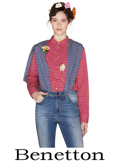 Clothing Benetton Shirts 2018 Women's 1