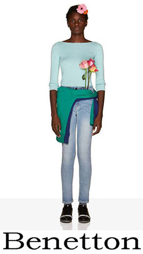 Fashion News Benetton Women's Jeans 1