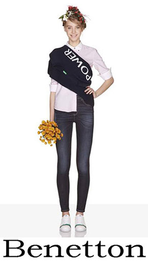 Fashion News Benetton Women's Jeans 2