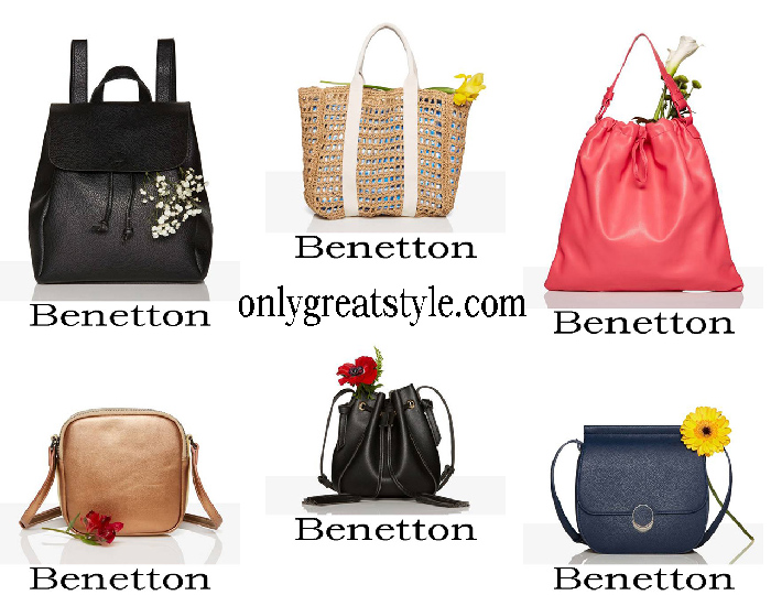 New Arrivals Benetton Bags Spring Summer Women's