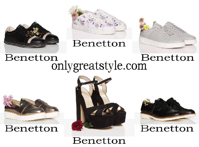 New Arrivals Benetton Shoes Spring Summer Women's