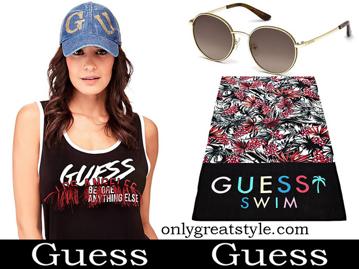 New Arrivals Guess Beachwear 2018 Sea Fashion
