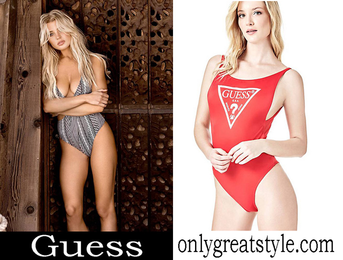 New Arrivals Guess Swimsuits 2018 Swimwear