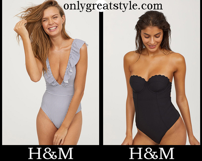 New Arrivals HM Swimsuits 2018 Women's Swimwear