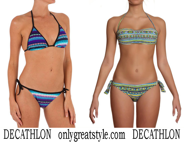 New Arrivals Decathlon Bikinis 2018 Swimwear