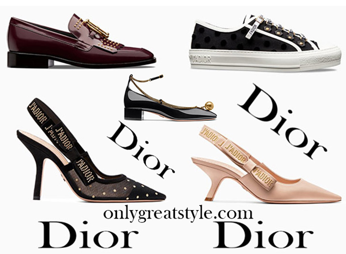 New Arrivals Dior Shoes 2018 Women's Footwear