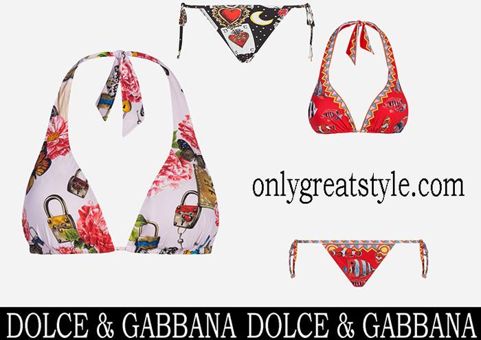 New Arrivals Dolce Gabbana Bikinis 2018 Swimwear