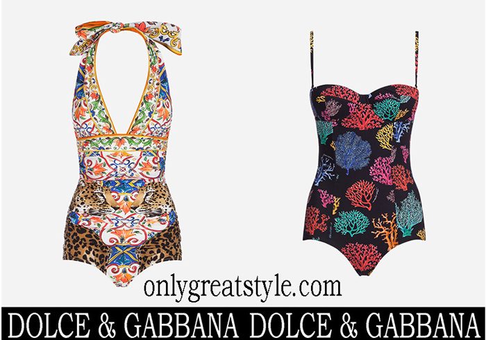 New Arrivals Dolce Gabbana Swimsuits 2018 Swimwear