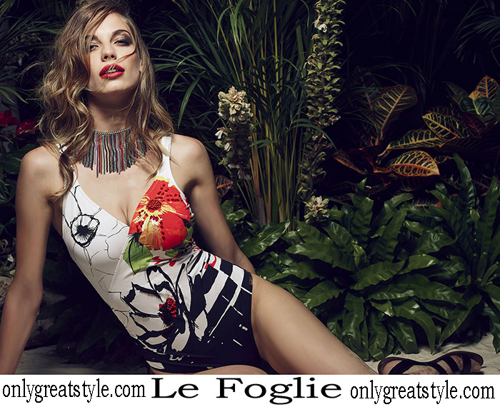 New Arrivals Le Foglie Swimsuits 2018 Swimwear