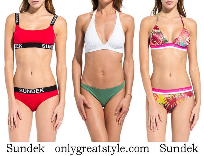 New Arrivals Sundek Bikinis 2018 Swimwear
