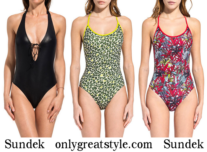 New Arrivals Sundek Swimsuits 2018 Swimwear