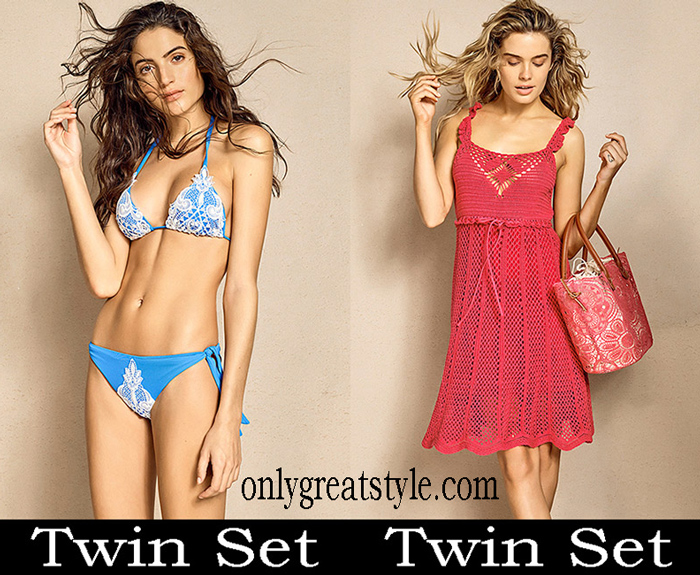 New Arrivals Twin Set Beachwear 2018 Swimwear