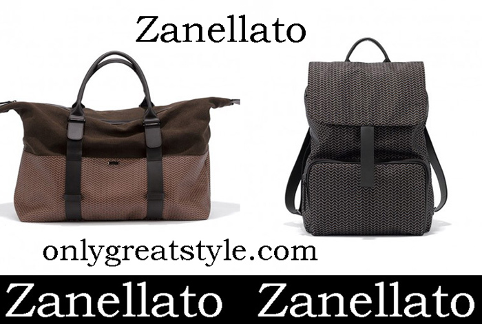 New Arrivals Zanellato Bags 2018 Men's Handbags