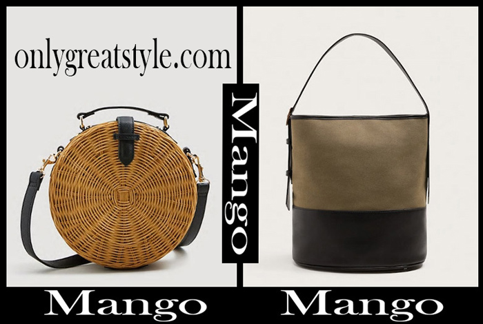 New Arrivals Mango Bags 2018 Women's Handbags