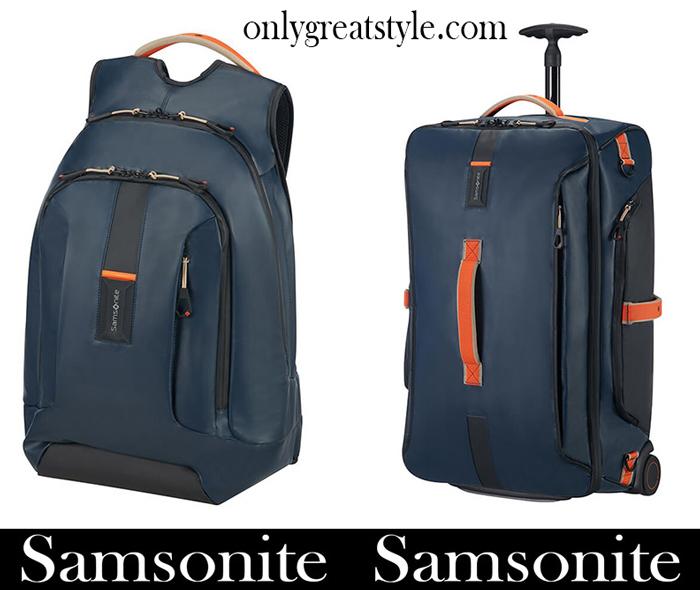 New Arrivals Samsonite Travel Bags 2018