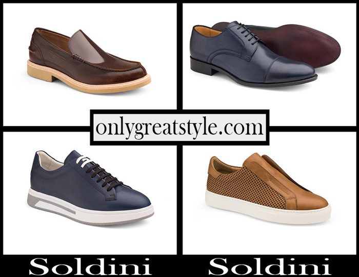 New Arrivals Soldini Shoes 2018 Men's Footwear