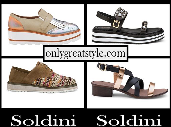 New Arrivals Soldini Shoes 2018 Women's Footwear