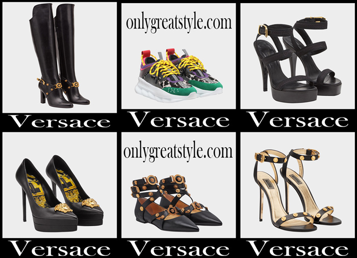 New Arrivals Versace Shoes 2018 Women's Footwear