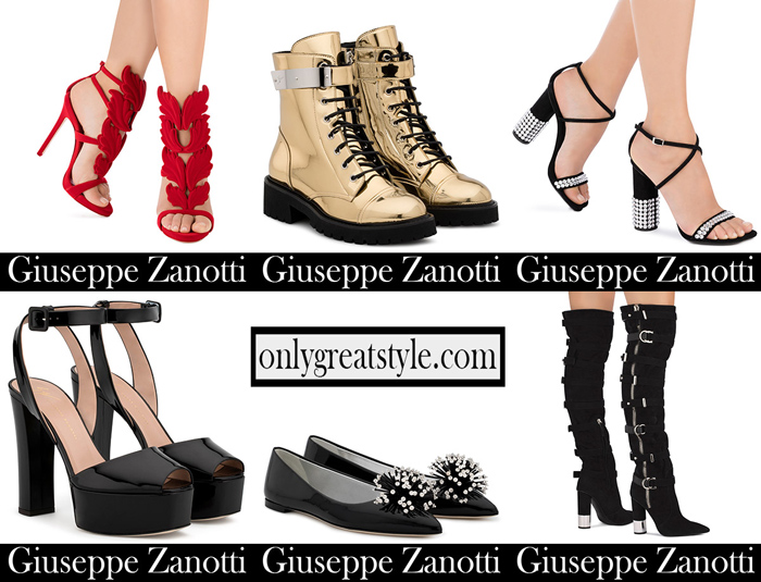 New Arrivals Zanotti Shoes 2018 2019 footwear