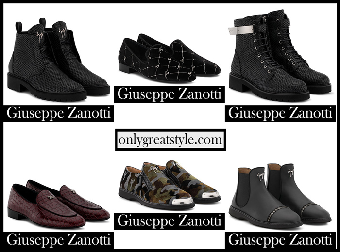New Arrivals Zanotti Shoes 2018 2019 Men's Footwear