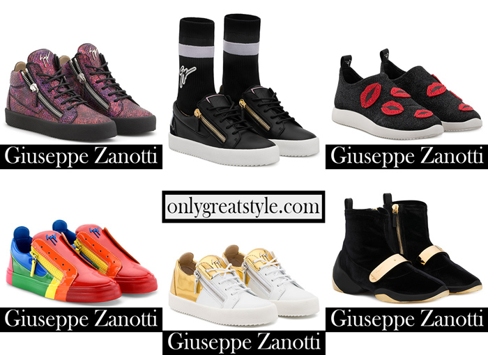 New Arrivals Zanotti Sneakers 2018 2019 Footwear