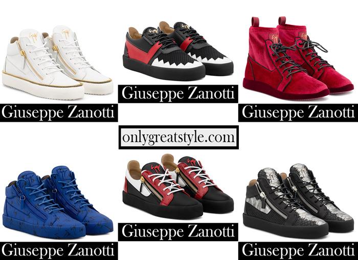 New Arrivals Zanotti Sneakers 2018 2019 Men's Footwear