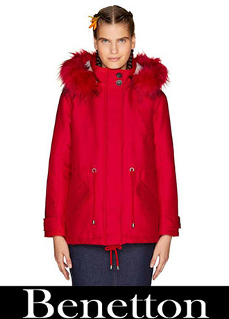 Benetton Down Jackets 2018 2019 Women's 4