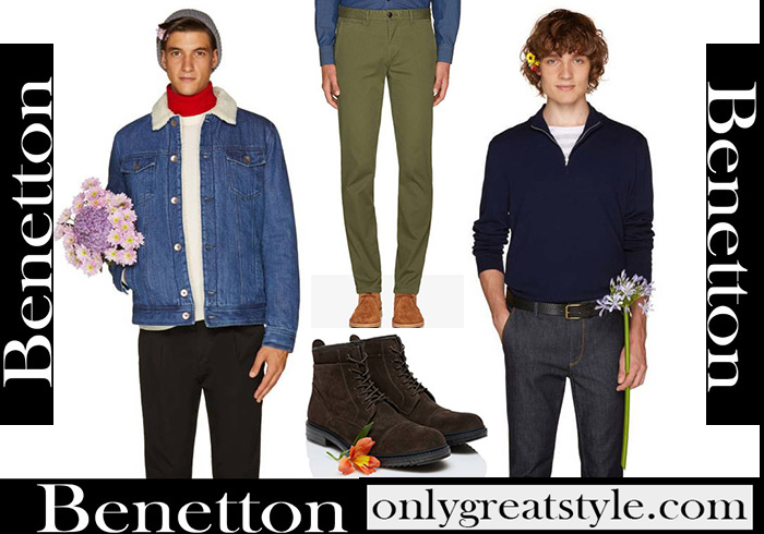 New Arrivals Benetton Fall Winter 2018 2019 Men's