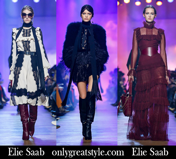 New Arrivals Elie Saab Fall Winter 2018 2019 Women's
