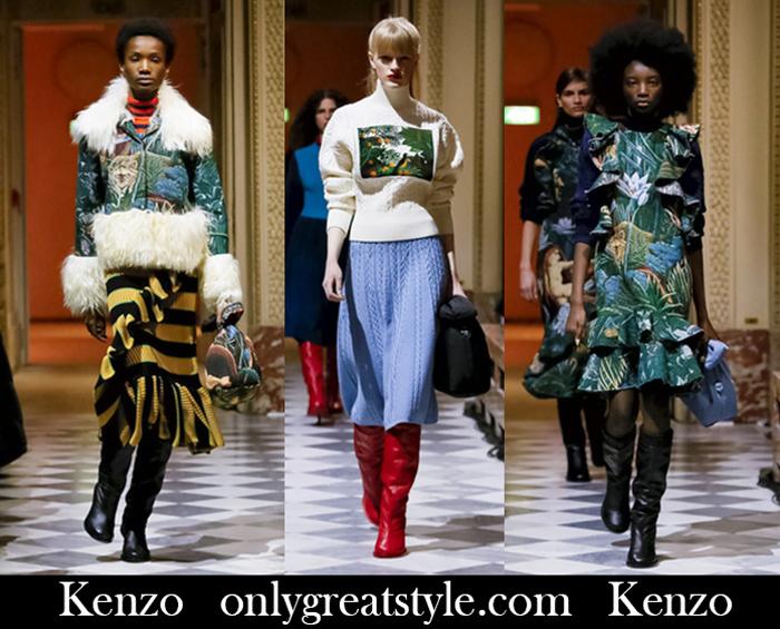 New Arrivals Kenzo Fall Winter 2018 2019 Women's