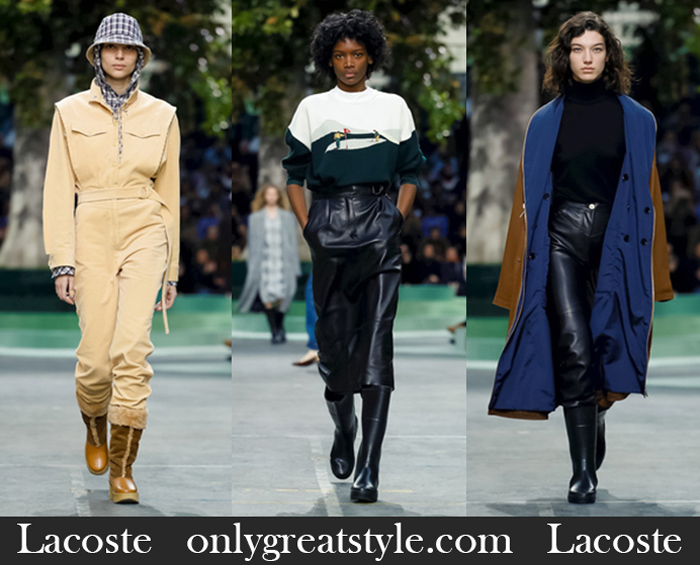 New Arrivals Lacoste Fall Winter 2018 2019 Women's