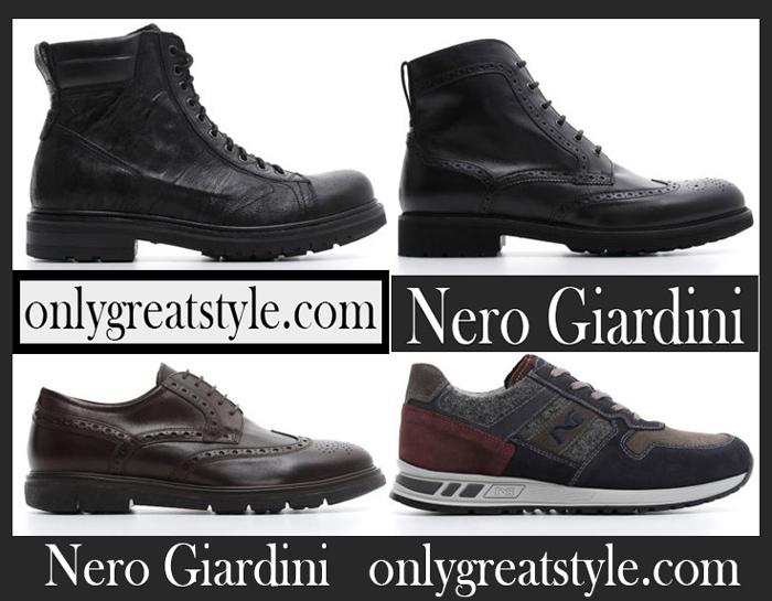 New Arrivals Nero Giardini Fall Winter 2018 2019 Men's