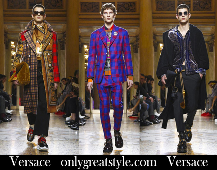 New Arrivals Versace Fall Winter 2018 2019 Men's