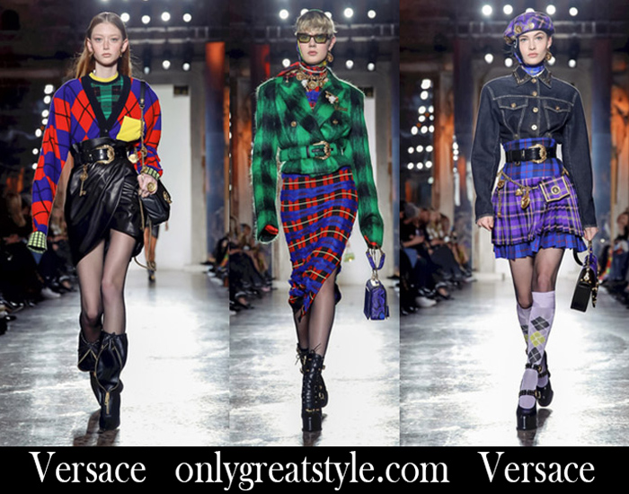 New Arrivals Versace Fall Winter 2018 2019 Women's