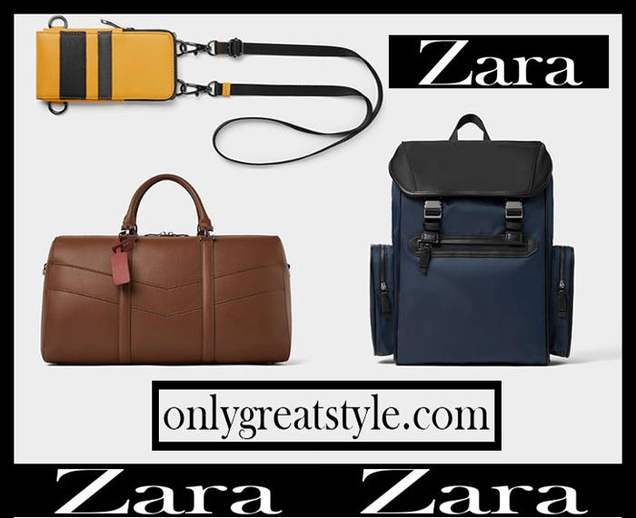 585a9c0fa1 New arrivals Zara bags 2018 2019 men's fall winter