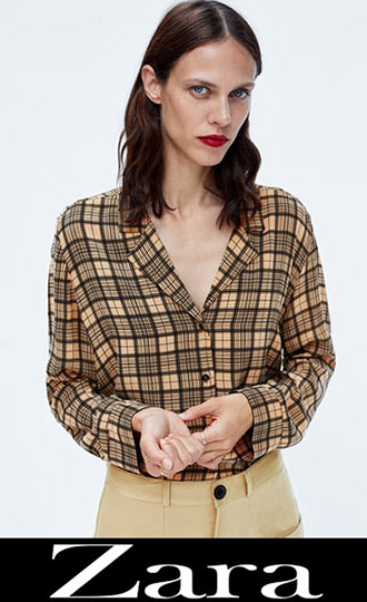 Zara Fall Winter 2018 2019 Women's Shirts 2