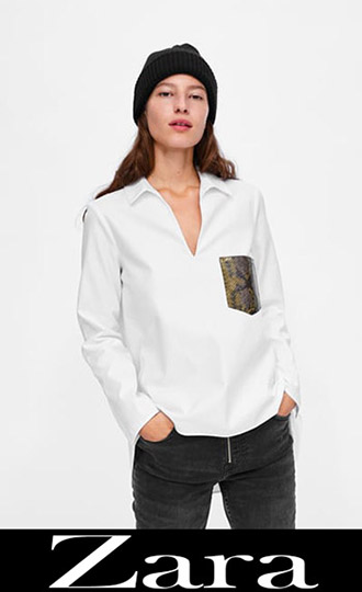 Zara Fall Winter 2018 2019 Women's Shirts 4