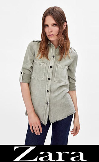 Zara Fall Winter 2018 2019 Women's Shirts 5