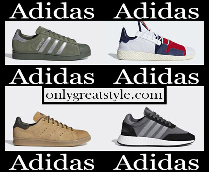 New arrivals Adidas sneakers 2018 2019 women's fall winter