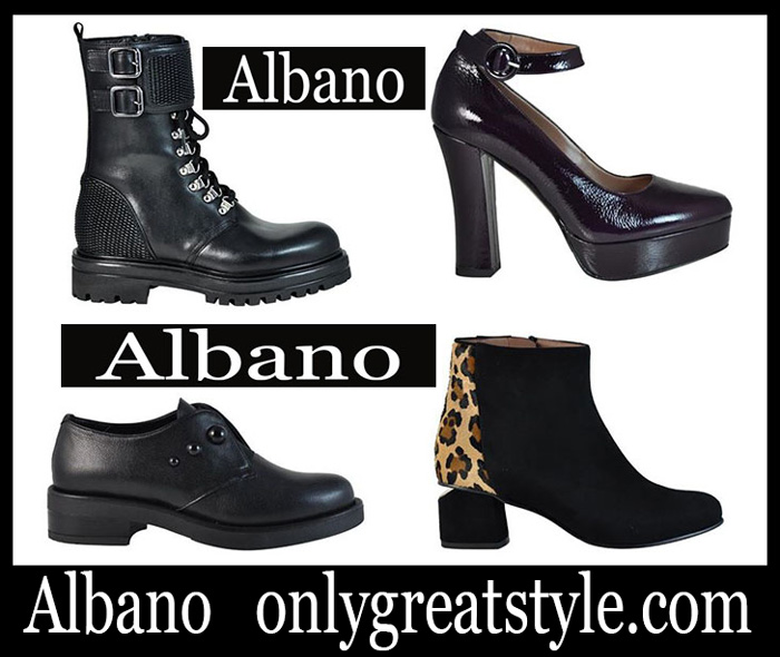 New Arrivals Albano Fall Winter 2018 2019 Women's