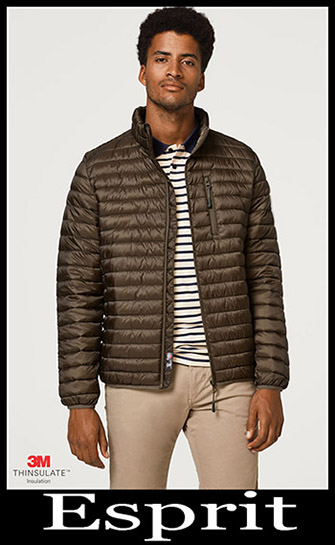 New Arrivals Esprit Down Jackets 2018 2019 Men's 5