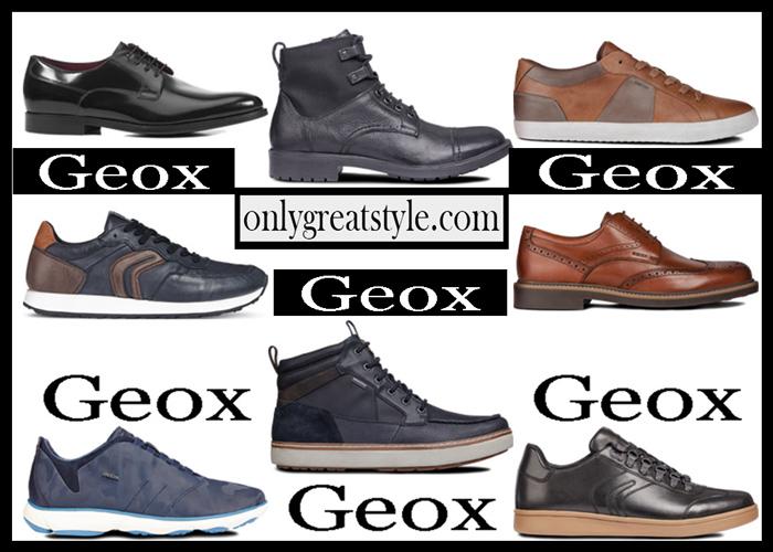 New arrivals Geox shoes 2018 2019 men's
