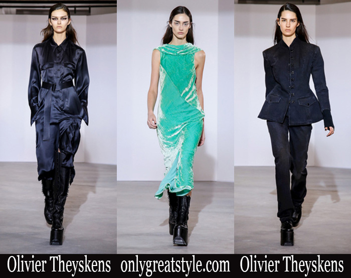 New Arrivals Olivier Theyskens Fall Winter 2018 2019 Women's